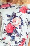 13-49 Gėlėta laisvalaikio suknelė Numoco