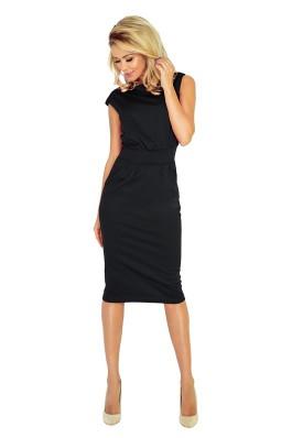 144-3 Juoda klasikinė suknelė Numoco