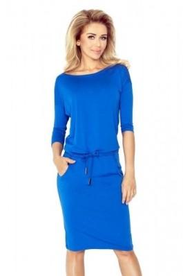 13-16(0) Karališka mėlyna laisvalaikio suknelė Numoco