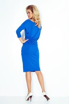 Sportinio stiliaus patogi suknelė - karališka mėlyna 13-16 0 Numoco