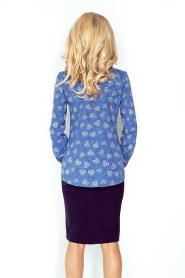 Marškiniai mėlynos spalvos MM 018-2 Numoco