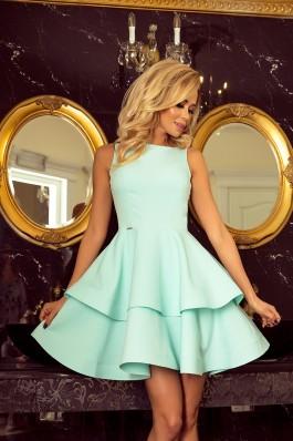 169-4 Cristina - Puošni mėtinė suknelė