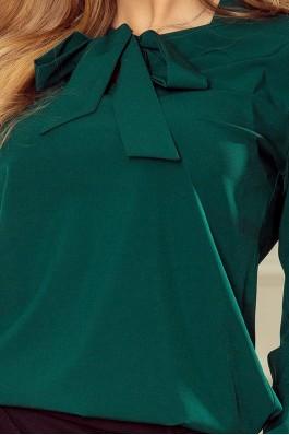 140-9 Elegantiška smaragdinė palaidinė