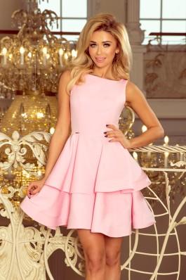 169-5 CRISTINA - Puošni rožinė suknelė