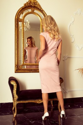 144-6 SARA Klasikinė rožinė suknelė