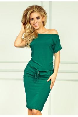 56-5 Akvamarino laisvalaikio suknelė