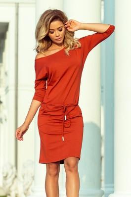 13-84 Sportinio stiliaus suknelė - Vario spalvos