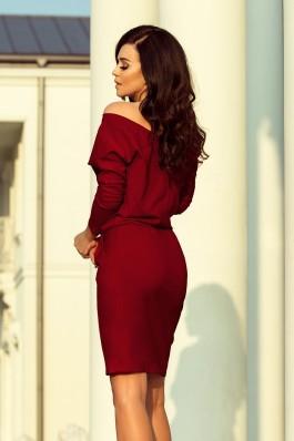 189-5 Sportinė suknelė - Burgundiška