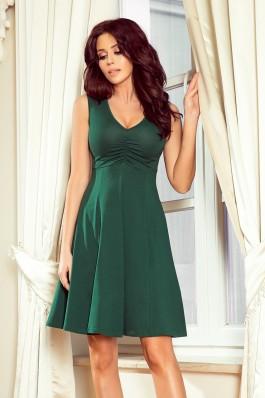 238-2 BETTY Plazdanti suknelė - Tamsiai žalia