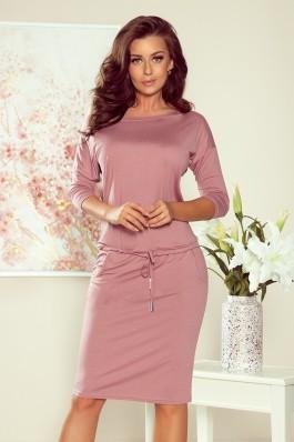 13-105 Rožinė laisvalaikio suknelė