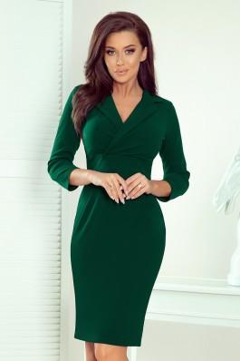 237-3 KELLY Elegantiška žalia suknelė
