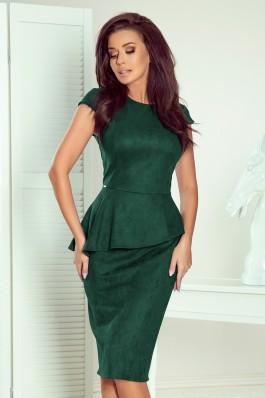 192-10 Elegantiška žalia suknelė