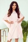 287-4 SOFIA Plazdanti rožinė suknelė