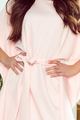 287-4 SOFIA Butterfly dress - pastel pink