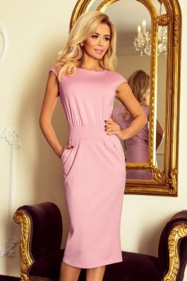 144-9 SARA Klasikinė rožinė suknelė