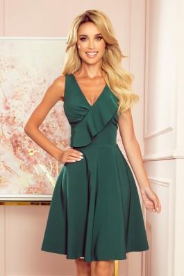 274-2 ANITA Žalia puošni suknelė