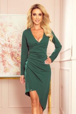 290-2 Žalia elegantiška suknelė