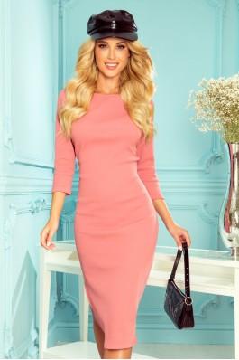 331-3 Priglundanti rožinė suknelė