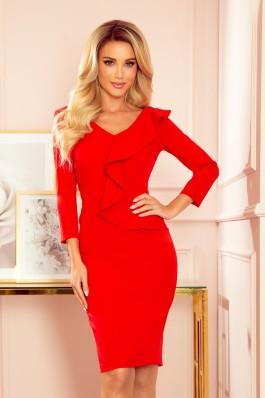 327-2 Elegantiška raudona suknelė