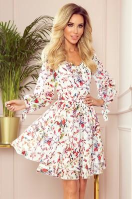 305-1 ZOE Gėlėta vasariška suknelė