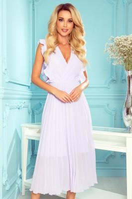 315-4 EMILY Alyvinė puošni suknelė