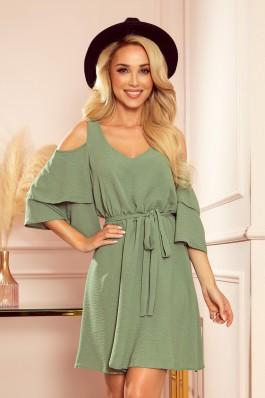 292-6 MARINA Aukštos kokybės laisva suknelė