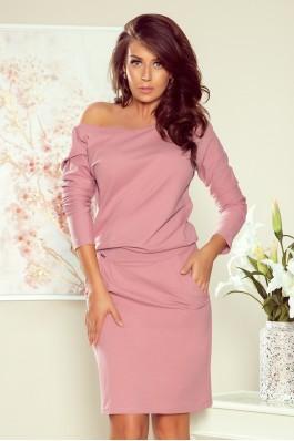 189-10 Rožinė laisvalaikio suknelė